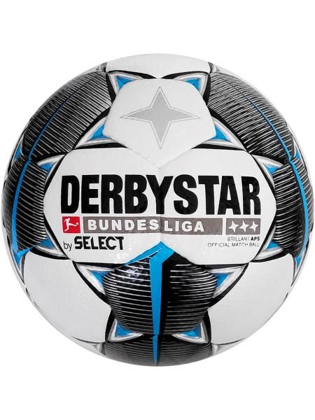 Футбольный мяч DERBYSTAR FB BL BRILLANT APS (147) бело-черно-серый