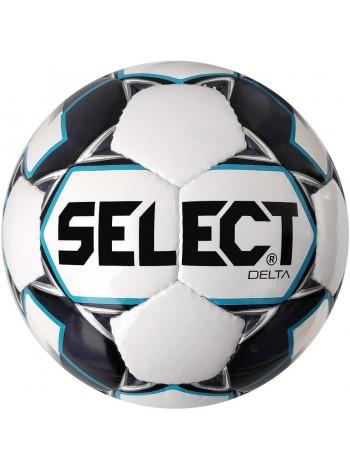 купить Футбольный мяч SELECT Delta (015) бело-серый  размер 5