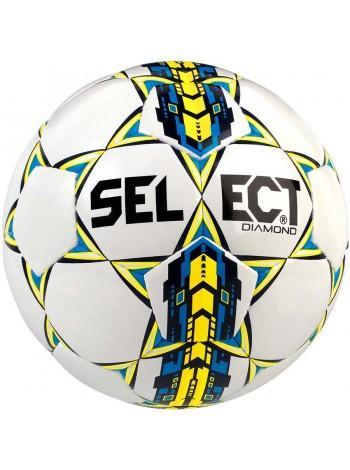 купить Футбольный мяч SELECT Diamond NEW бело-синий