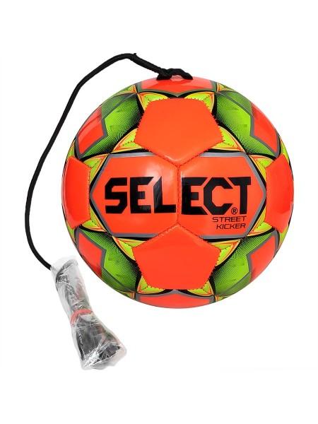Футбольный мяч SELECT Street Kicker (028) оранжево-желтый