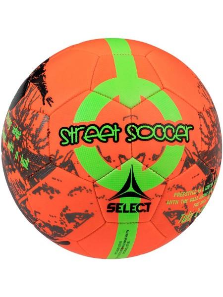 Футбольный мяч SELECT Street Soccer New (207) оранжево-зеленый