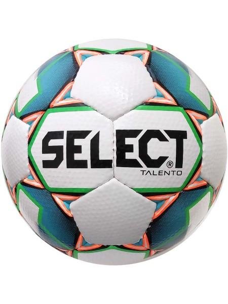 Футбольный мяч SELECT Talento (306) бело-зеленый