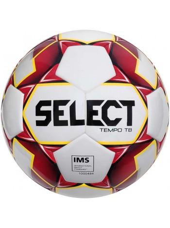 купить Футбольный мяч SELECT Tempo IMS (010) бело-красный Размер 5
