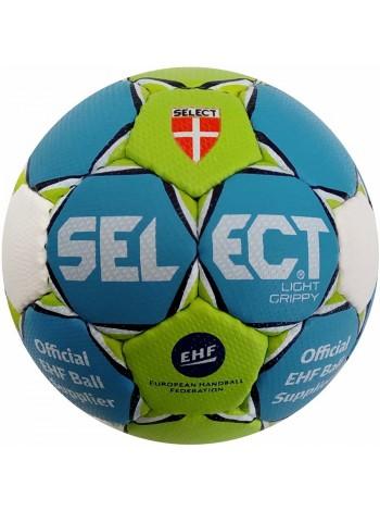 купить Гандбольный мяч SELECT LIGHT GRIPPY MICRO зелено-голубой