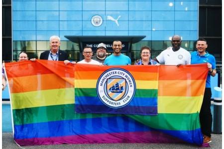 Манчестер Сити поддержал ЛГБТ сообщество
