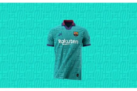 Барселона презентовала резервный комплект формы 2019-2020