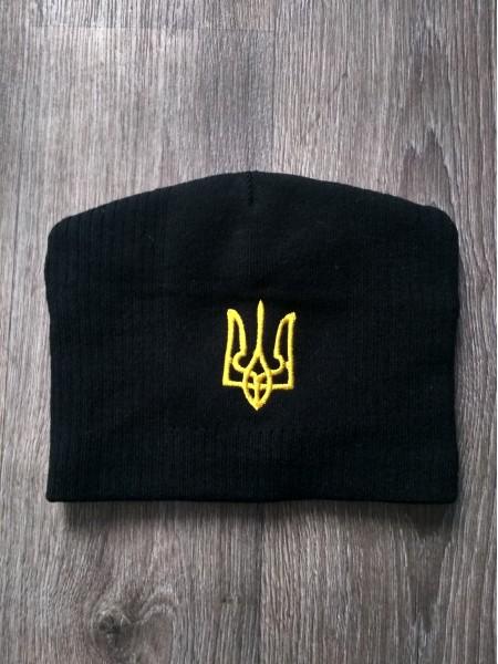 Шапка Украина черная