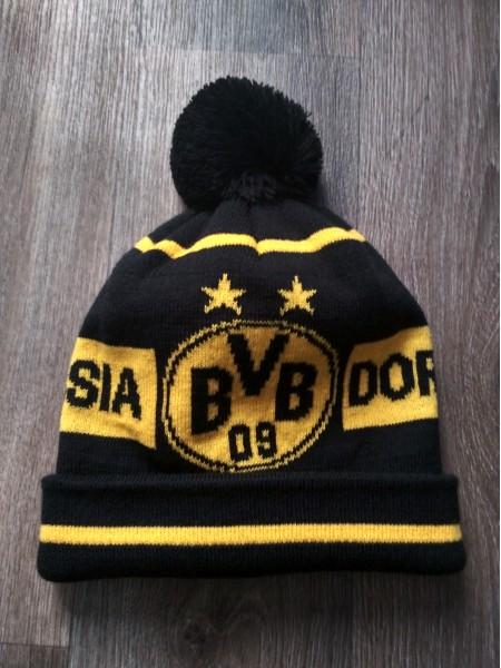Футбольная шапка Боруссия черная