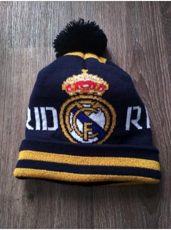 купить Футбольная шапка Реал Мадрид синяя