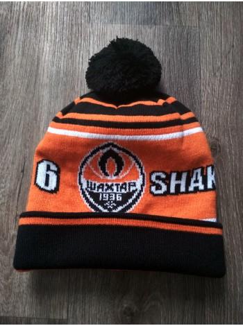купить Футбольная шапка Шахтер оранжевая