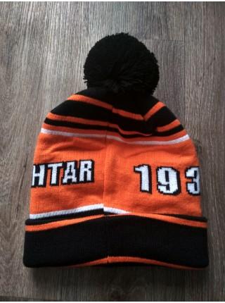 Футбольная шапка Шахтер оранжевая