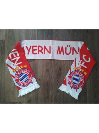 Футбольный шарф Бавария красный