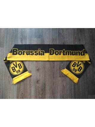 Футбольный шарф Боруссия черный