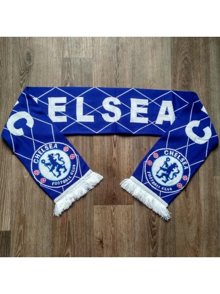 Футбольный шарф Челси синий