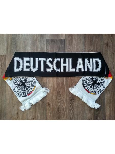 Футбольный шарф Германия черный