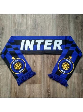 купить Футбольный шарф Интер синий