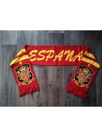 купить Футбольный шарф Испания красный