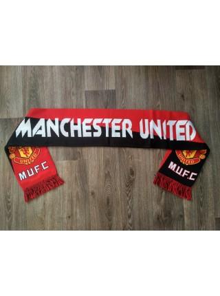 Футбольный шарф Манчестер Юнайтед красный