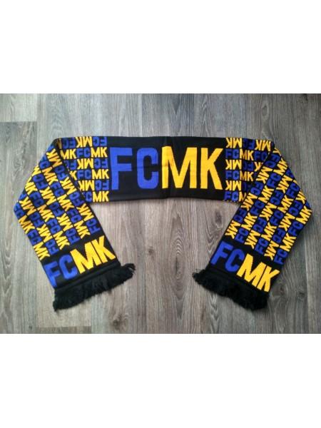 Футбольный шарф Металист черный