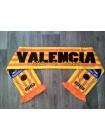купить Футбольный шарф Валенсия оранжевый