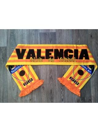 Футбольный шарф Валенсия оранжевый
