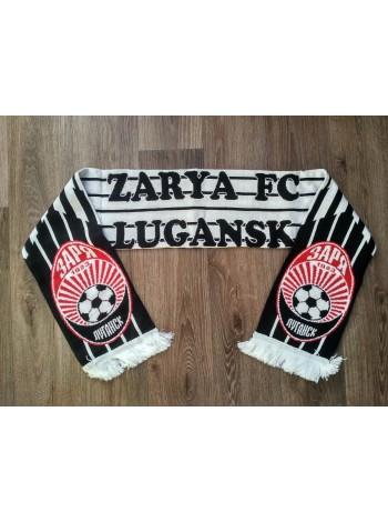 купить Футбольный шарф Заря черный
