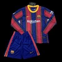 Футбольная форма с длинным рукавом Барселона домашняя 2020-2021