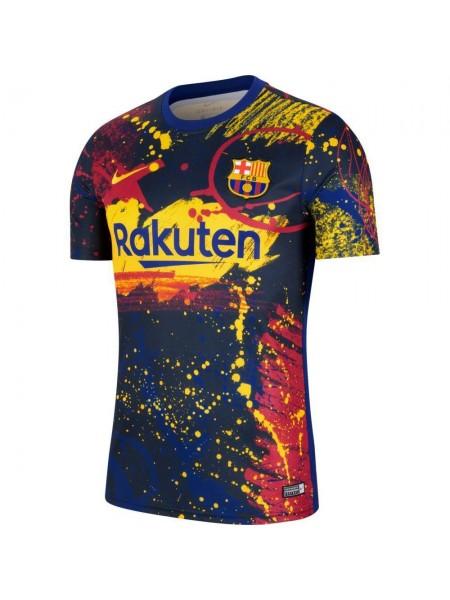 Детская футбольная форма Барселона тренировочная 2020-2021