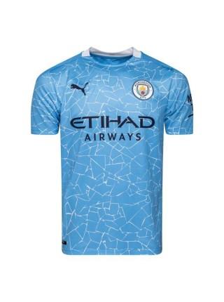 Детская футбольная форма  Манчестер Сити STERLING 7 домашняя 2020-2021