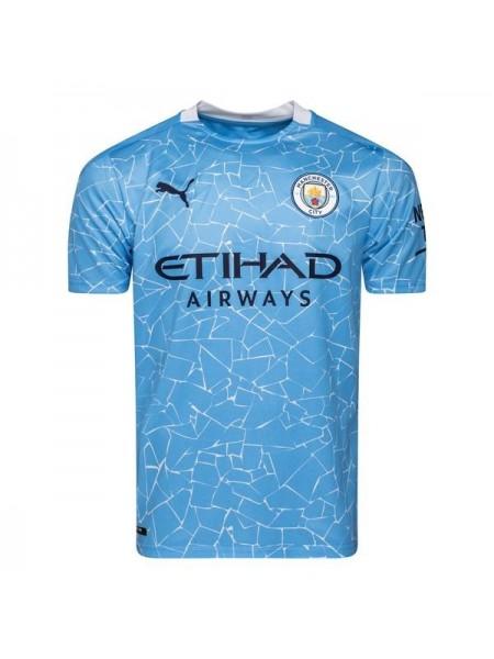 Детская футбольная форма  Манчестер Сити  домашняя 2020-2021