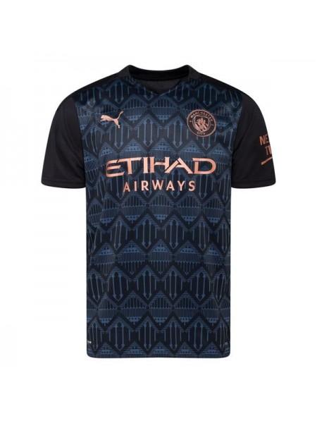 Детская футбольная форма Манчестер Сити выездная 2020-2021