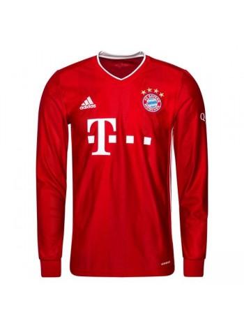 купить Футбольная форма с длинным рукавом Бавария Мюнхен домашняя 2020-2021