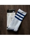 купить Детские футбольные гетры Адидас бело-синие Br