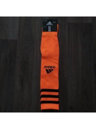 Детские футбольные гетры Адидас оранжевые Br