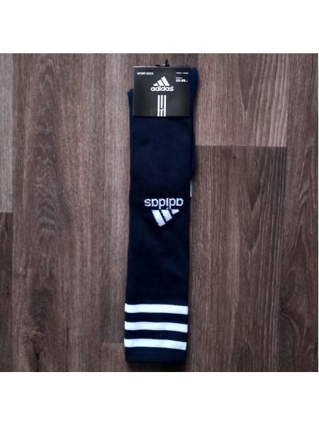 Футбольные гетры Адидас темно-синие Br