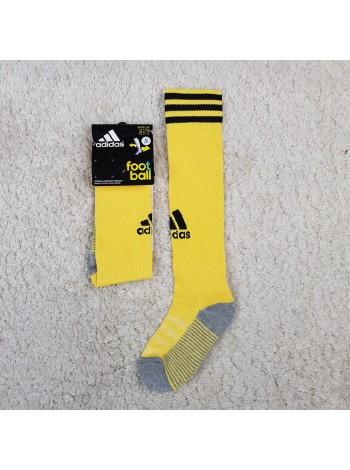 купить Детские футбольные гетры Адидас желтые SU