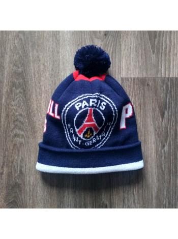 купить Футбольная шапка ПСЖ темно-синяя