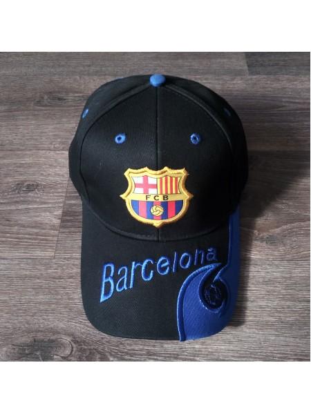 Кепка Барселона черная