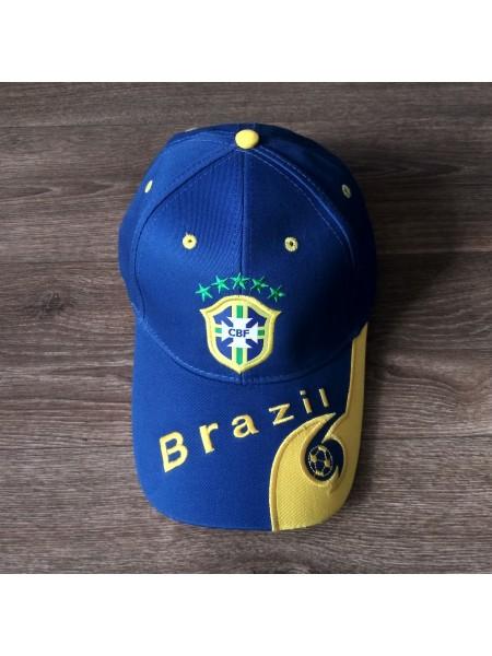 Кепка Бразилия синяя