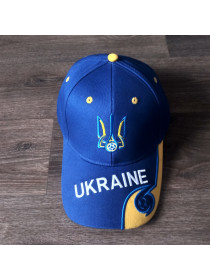 Кепка Украина синяя