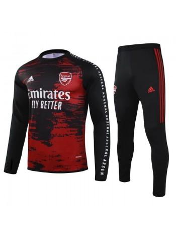 купить Детский спортивный костюм Арсенал черный 2020-2021