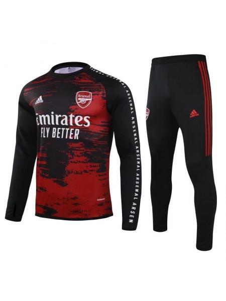 Детский спортивный костюм Арсенал черный 2020-2021