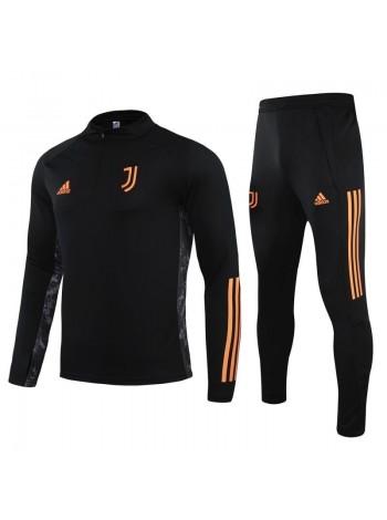 купить Детский спортивный костюм Ювентус черный  2020-2021