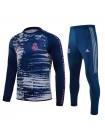 купить Детский тренировочный костюм Реал Мадрид темно-синий 2020-2021