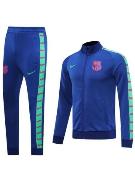 Спортивный костюм Барселона синий 2020-2021