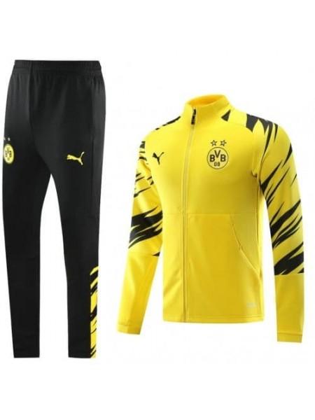 Спортивный костюм Боруссия Дортмунд желтый 2020-2021