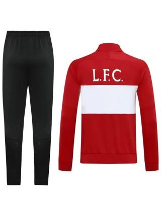Спортивный костюм Ливерпуль красный 2020-2021