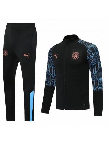 купить Спортивный костюм Манчестер Сити черный 2020-2021