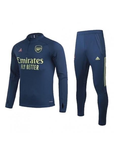Тренировочный костюм Арсенал синий 2019-2020