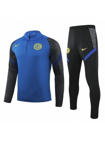 купить Тренировочный костюм Интер синий 2020
